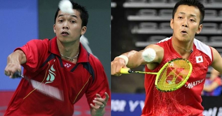 6 Potret ini bukti atlet Jepang Kenta Nishimoto mirip Taufik Hidayat