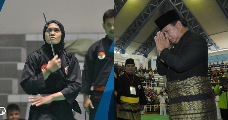 Ini pesan dan dukungan Prabowo ke atlet pencak silat, luar biasa