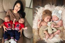 10 Potret lucunya Magha & Degha, bayi kembar Kadek Devi yang gemesin