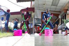10 Aksi superhero disuruh lakukan pekerjaan sehari-hari, kocak pol