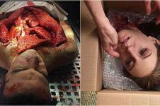 10 Karya silikon bertema tubuh manusia ini sadis abis, bikin merinding