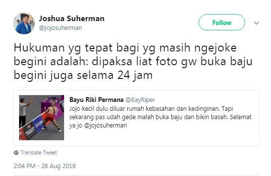 salah mention Jojo © 2018 Twitter