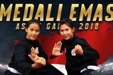 Pencak silat beregu putri sumbang emas lagi, Indonesia bangga