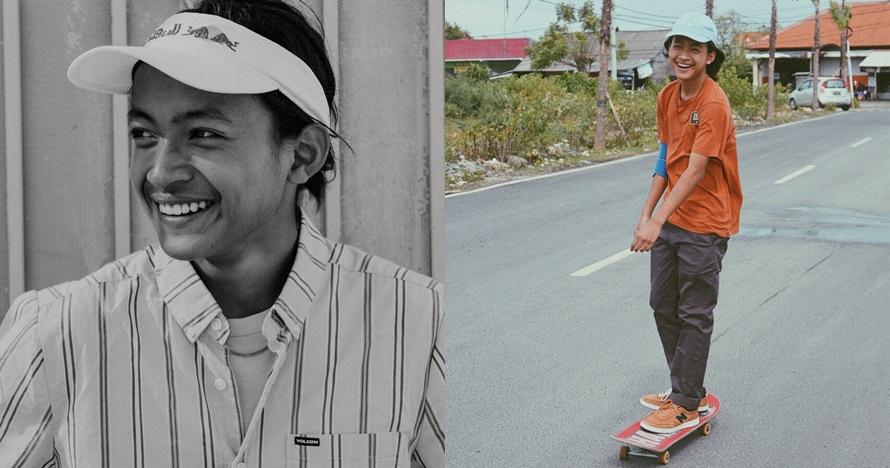 10 Gaya kece Sanggoe, atlet skateboard penyumbang perak di Asian Games