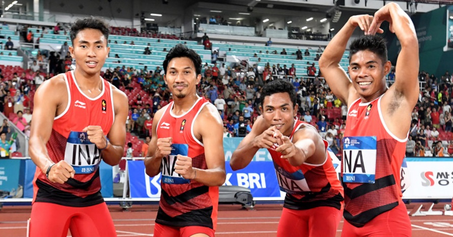 Catatkan waktu tercepat, Zohri berpeluang rebut medali perdana di AG