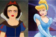 Begini jadinya kalau 10 putri Disney suka begadang, gagal cantik deh