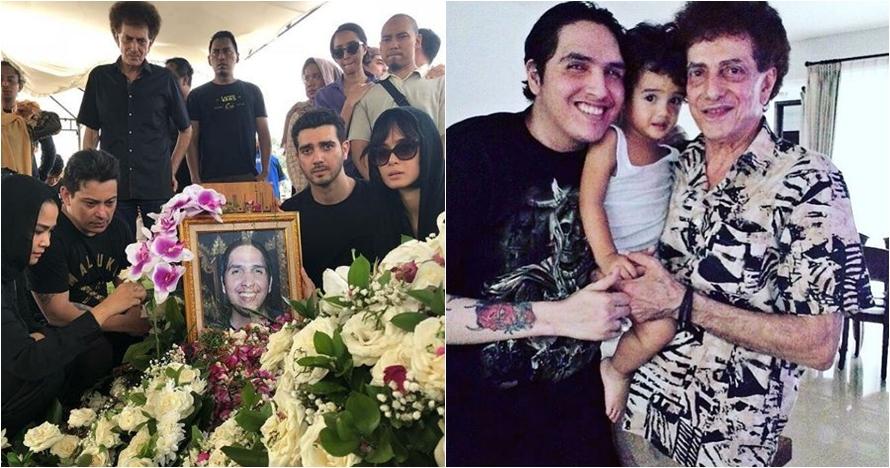 10 Foto kenangan Fadly Albar, anak Achmad Albar yang meninggal dunia