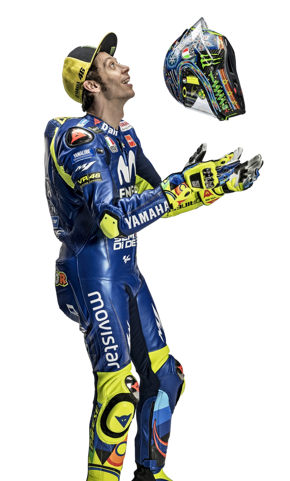 Tak cuma andal di Moto GP, ini 5 bakat tersembunyi Valentino Rossi berbagai sumber