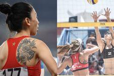 Pamer tato, 9 atlet cantik Asian Games ini makin mencuri perhatian