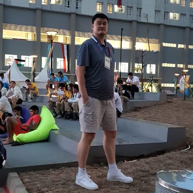 Momen Yao Ming © 2018 Istimewa