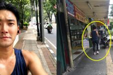Jogging sendirian di Kota Jakarta, Siwon Super Junior bikin fans heboh