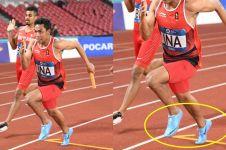 Rebut medali perak, ini harga sepatu yang dipakai Zohri di Asian Games