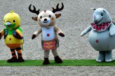 Ini riuhnya orang beli boneka maskot Asian Games, bak berburu diskonan