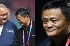 8 Gaya santai konglomerat dunia Jack Ma kunjungi Asian Games 2018