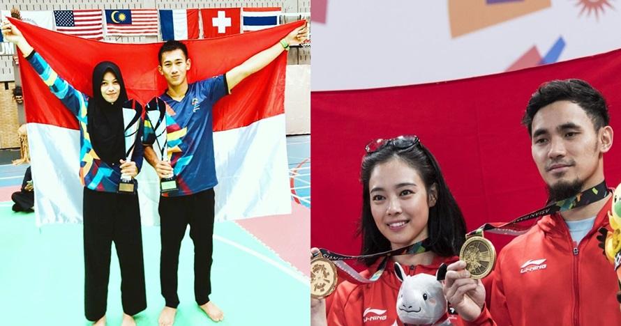Selain Iqbal-Sarah, 4 pasangan atlet ini sabet medali di Asian Games