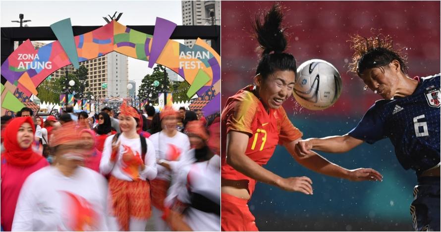 Jelang penutupan, ini negara yang belum raih medali emas Asian Games