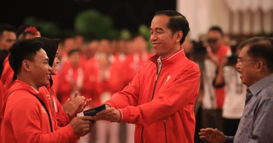 10 Potret penyerahan bonus Asian Games 2018, selamat