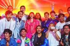 Momen seru seleb Tanah Air di Closing Ceremony Asian Games 2018