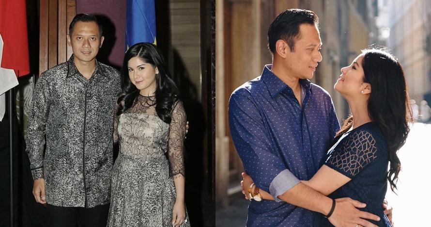Pulang haji, gaya istri AHY di penutupan Asian Games curi perhatian