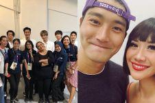 6 Seleb Tanah Air foto bareng Siwon Super Junior, bikin iri fans K-Pop