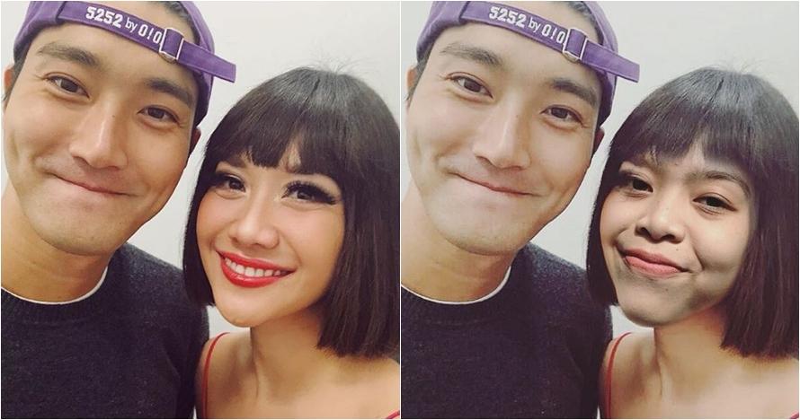 6 Selfie halu fans K-pop dengan Siwon di backstage Asian Games 2018