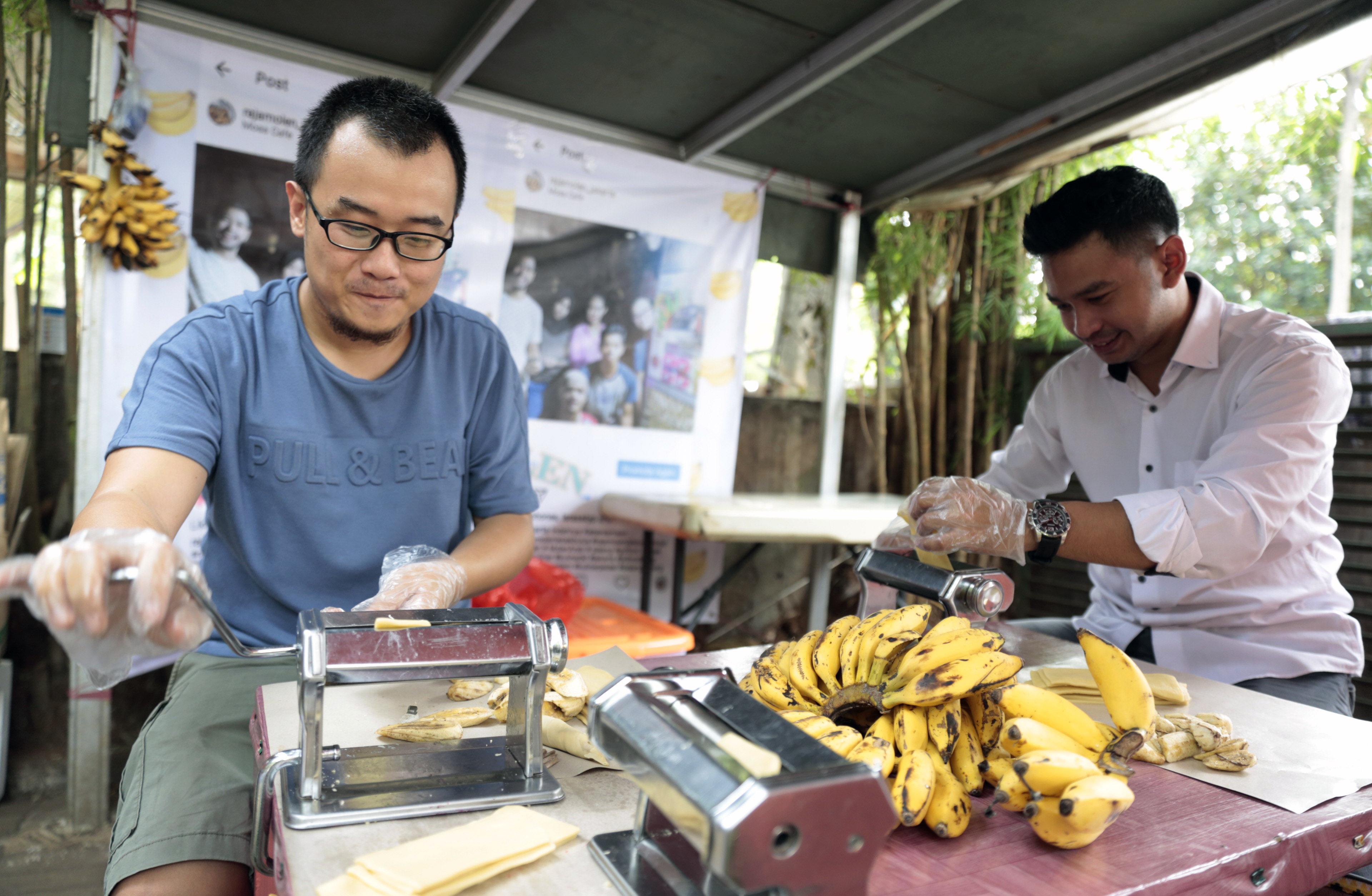 Punya 9 varian rasa, penjual pisang molen ini raup Rp 2 juta/hari