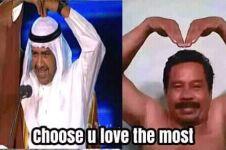 5 Meme Syeikh Ahmad Al Fahad saat penutupan Asian Games, bikin ngakak