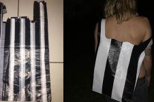 Mirip kantong plastik, tas ini dijual dengan harga fantastis