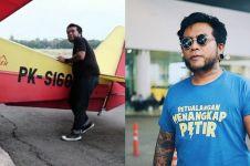 Ini postingan Erix Soekamti sebelum pesawat yang dinaikinya jatuh
