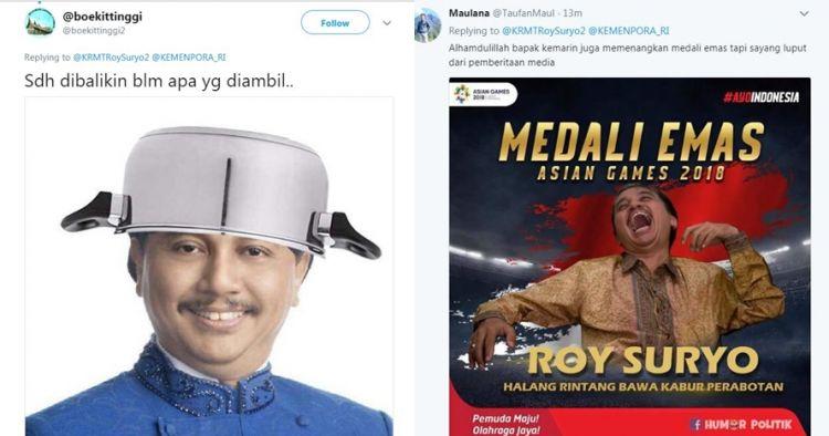 Kehabisan Tiket dari Yogya, Roy Suryo Absen ke Kemenpora