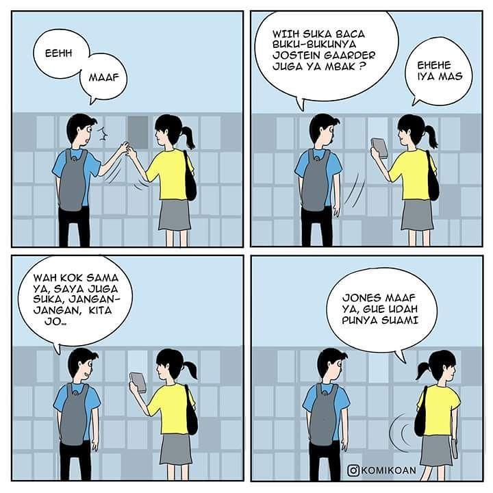 10 Kisah Cinta Pahit Dalam Komik Strip Ini Deritanya Tiada Akhir