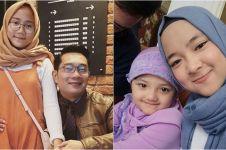10 Gaya hijab Zara, putri Ridwan Kamil yang mirip Nissa Sabyan