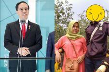 Bak pinang dibelah dua, pria ini mirip banget dengan Presiden Jokowi
