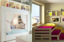 10 Desain kamar lucu minimalis buat anak, si kecil dijamin betah