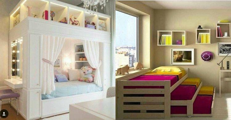 10 Desain kamar lucu minimalis buat anak, si kecil dijamin ...