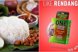 Selain nasi lemak, varian baru kondom di Malaysia ini tak kalah unik