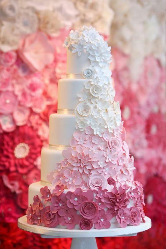 ombre cake © 2018 Istimewa