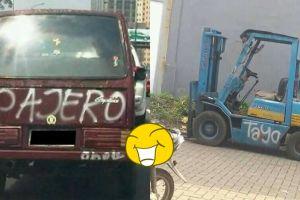 10 Tulisan di kendaraan ini kocaknya keterlaluan, hanya di Indonesia
