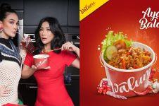 Kekinian, 8 seleb Tanah Air ini rintis bisnis kuliner rice bowl