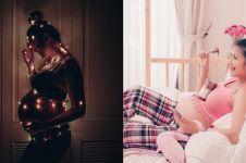 Seksi dan menawan, begini 8 potret maternity ala Sharena Delon