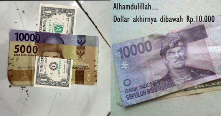 8 Meme saat 'dolar tembus Rp 15 ribu' ini bikin geregetan sendiri