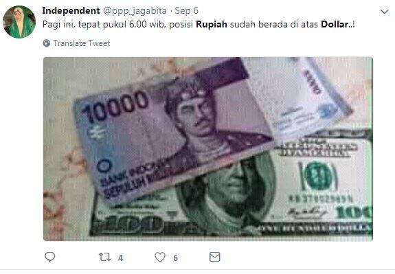 meme rupiah usd © 2018 berbagai sumber
