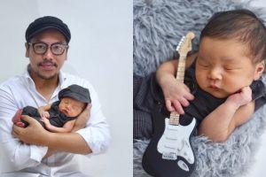 Baru lahir, begini 6 pemotretan baby Geva putra Sammy Simorangkir