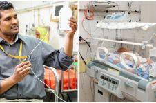 Cuma pakai plastik, dokter ini bisa sembuhkan pneumonia pada bayi