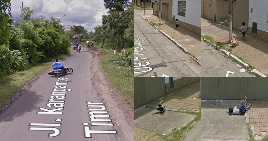 Iseng pakai Google Maps di kampung, orang ini temukan 10 momen kocak