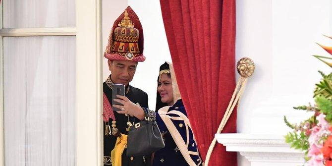 Jokowi & Iriana hadiri pernikahan anggota Paspampres, begini potretnya