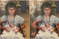 Tak terduga, wanita ini bertemu dengan bayi yang dirawat 28 tahun lalu