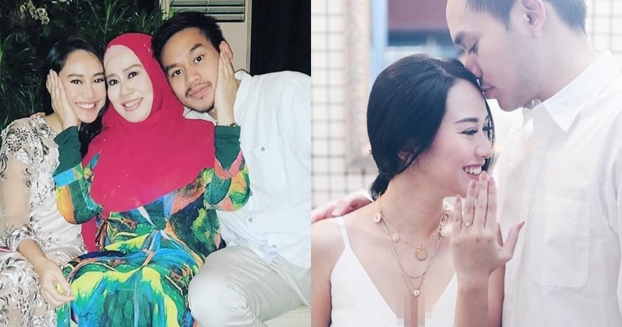 8 Potret mesra putra Dewi Yull & kekasih, deg-degan menanti hari nikah