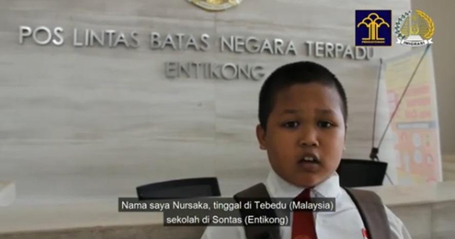 Kisah bocah SD lintasi 2 negara tiap hari untuk sekolah, salut banget