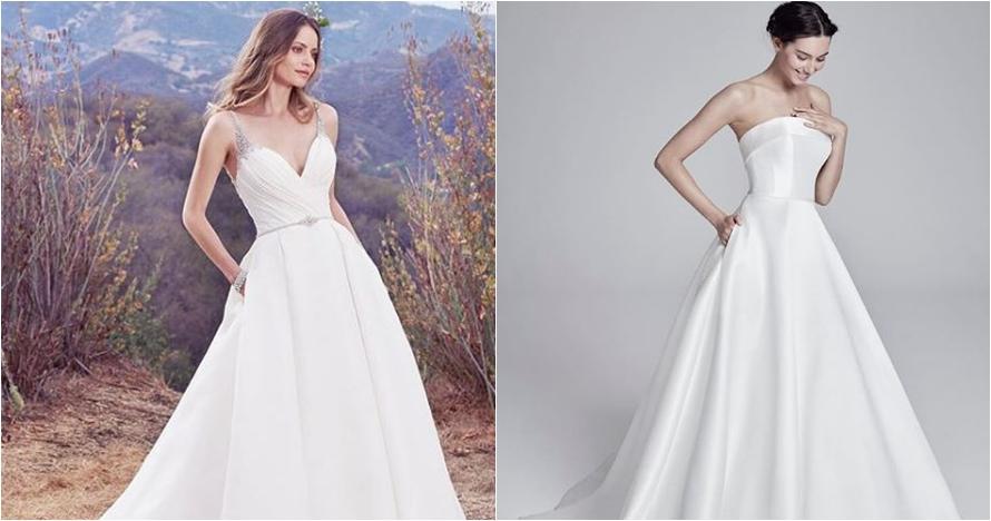 7 Tren gaun pengantin bersaku, bisa jadi inspirasi untuk pernikahanmu